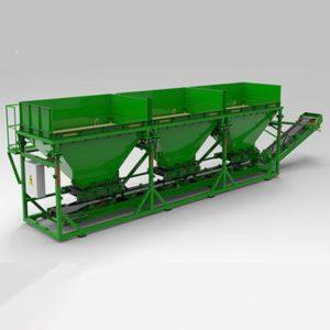 Оборудование для сортировки и смешивания сыпучих материалов