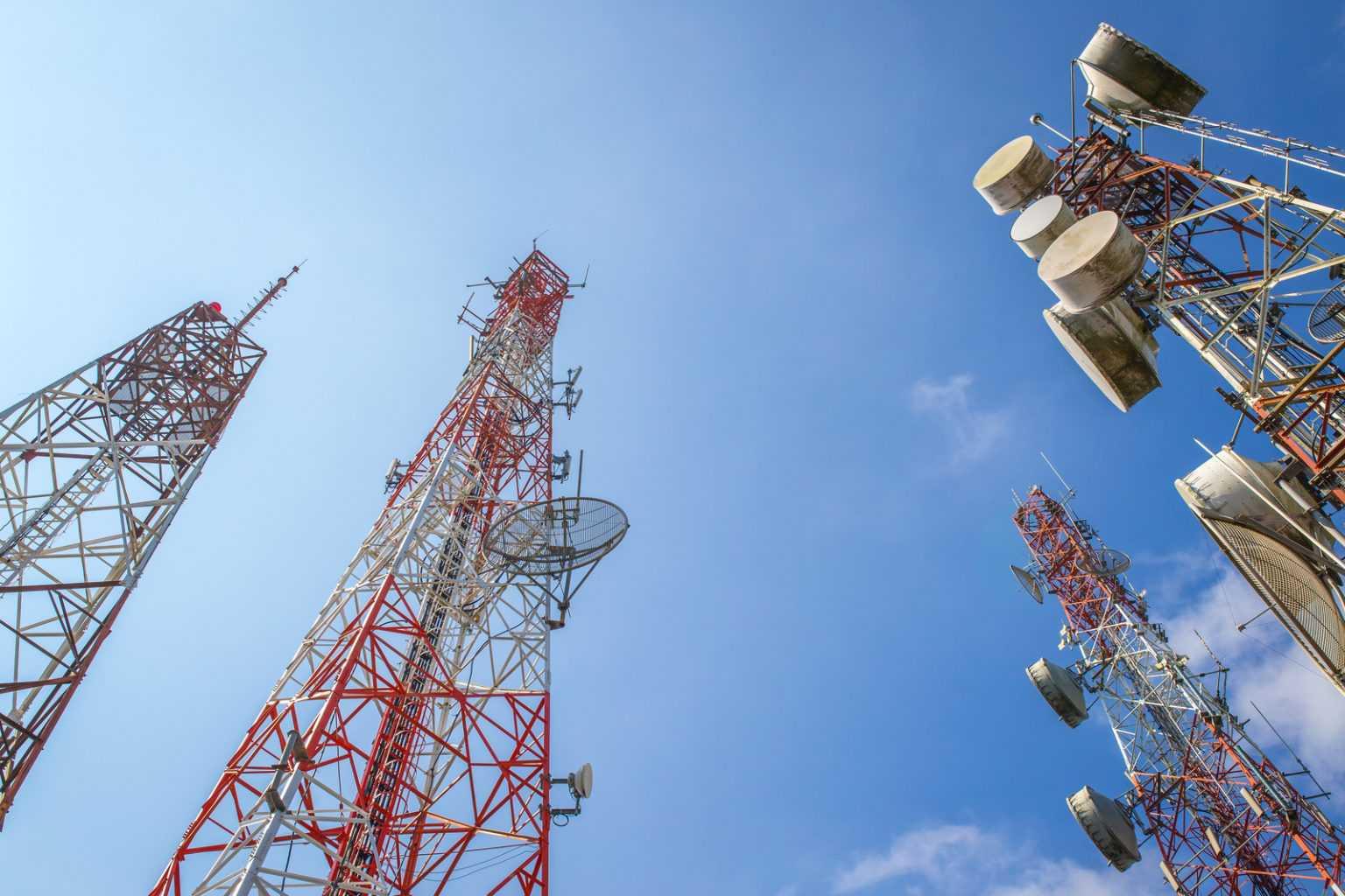 Конструкции башен связи