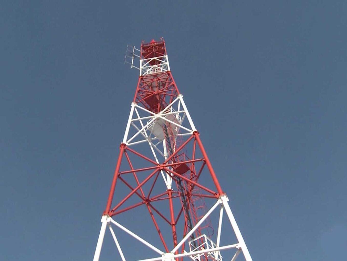 Башня связи «Риф» от завода «Комдор»
