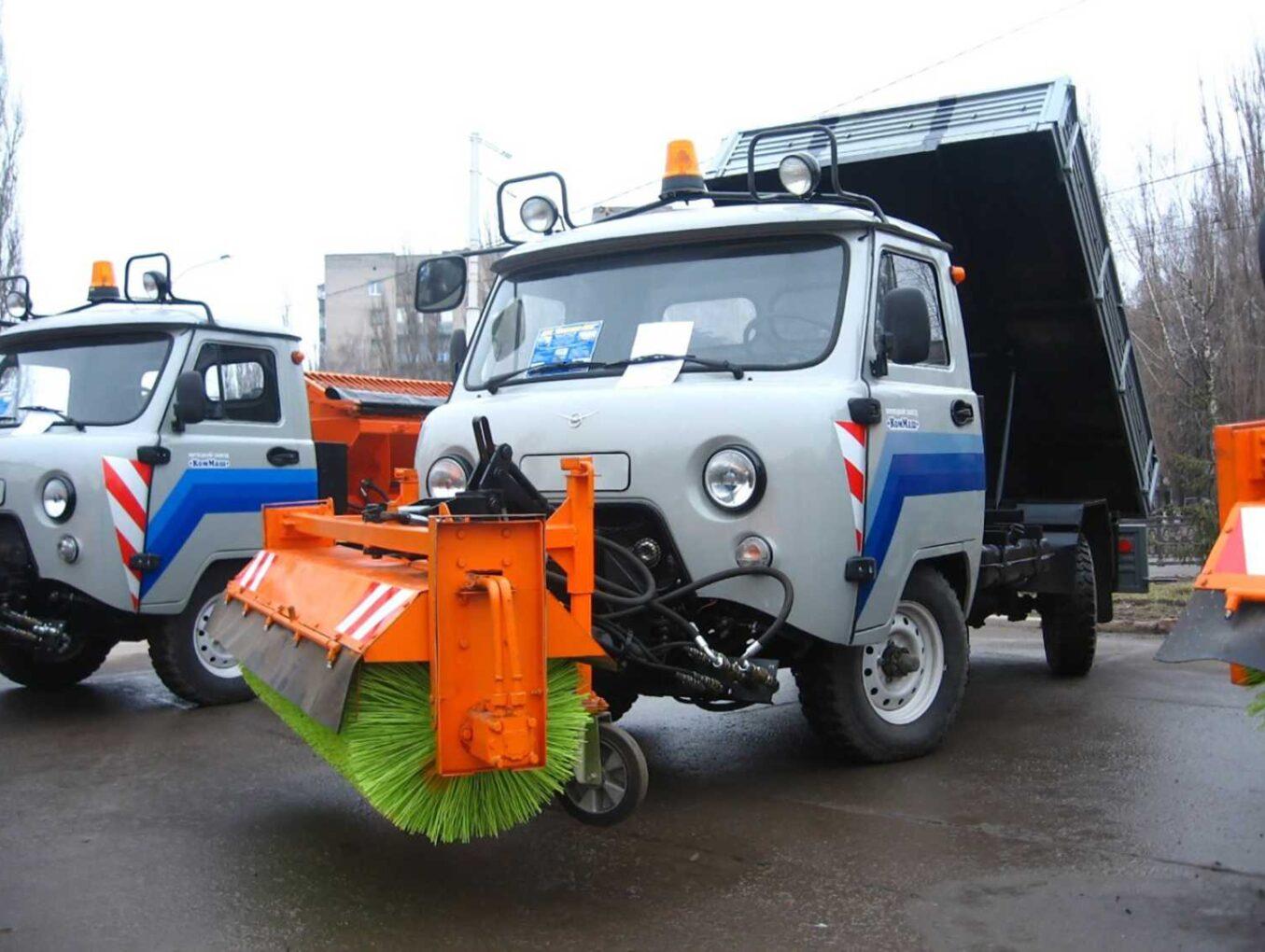 Малые уборочные коммунальные машины